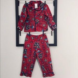 Carter's Toddler boy Transformers pajama set 4